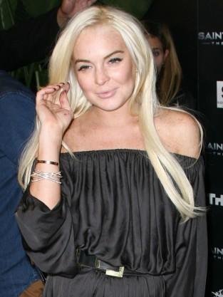 Lindsay Lohan Smiling