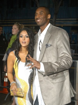 Vanessa Bryant and Kobe Bryant