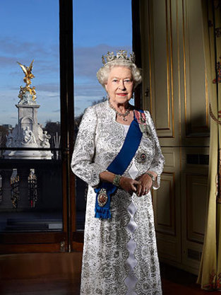 Queen Elizabeth II Portrait