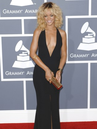 Rihanna Grammys Dress