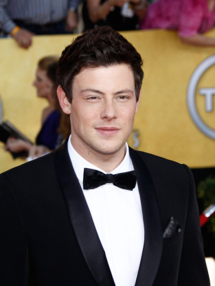 Cory Monteith in Tux