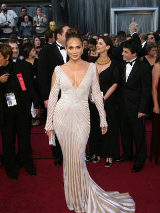 Jennifer Lopez at the Oscars