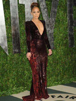 Jennifer Lopez Vanity Fair Dress