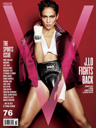 Jennifer Lopez V Magazine Cover