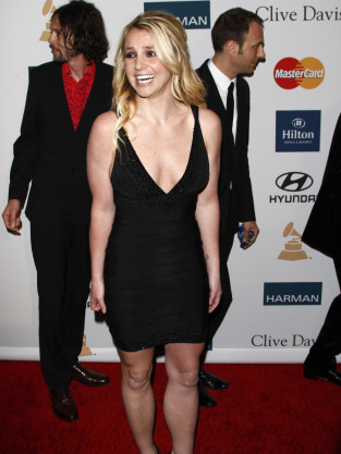 Britney Spears, Black Dress