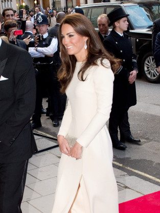 Kate Middleton Shows Some Leg