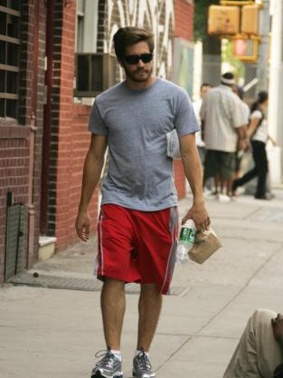 Jake Gyllenhaal Working Out