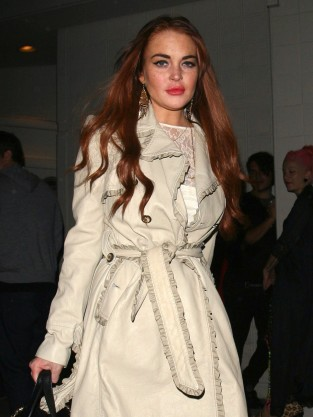 Lindsay Lohan Hair Red
