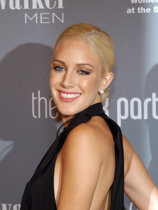 Heidi Montag Slicked Hair