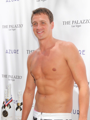 Ryan Lochte Topless