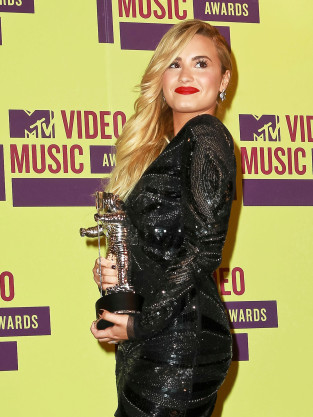 Demi Lovato as a Winner