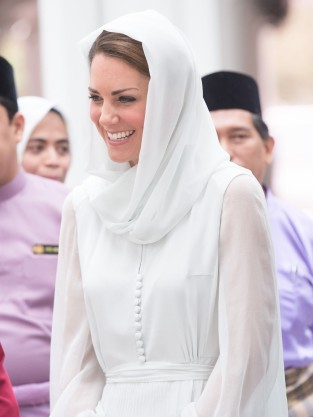 Kate Middleton Visits Mosque