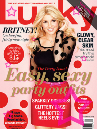 Britney Spears Lucky Cover
