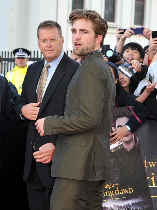 Robert Pattinson on Breaking Dawn Tour