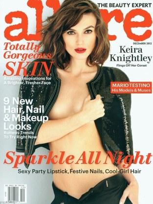 Keira Knightley Allure Cover