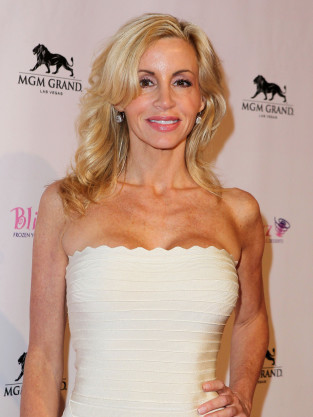 Camille Grammer Busts Out