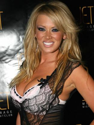 Jenna Jameson Chest Out