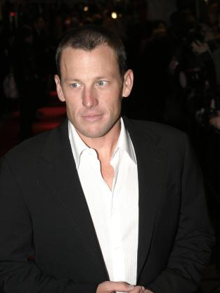 Lance Armstrong Premiere Photo