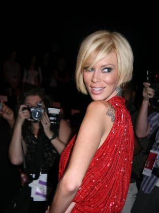 Jenna Jameson Red Dress