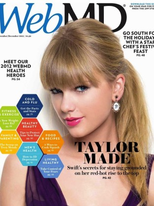 Taylor Swift WebMD Cover