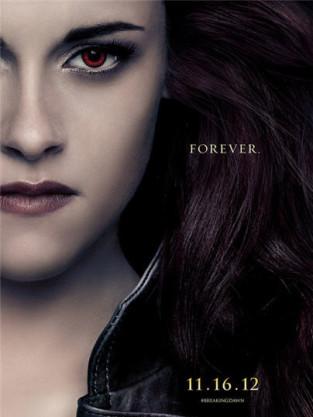Kristen Stewart Breaking Dawn Poster
