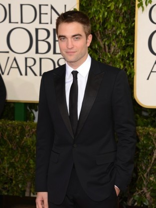 Robert Pattinson at Golden Globes