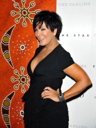 Kris Jenner, Cleavage Flash