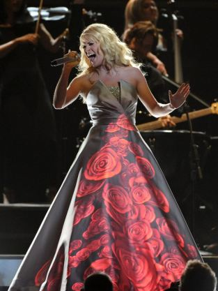 Carrie Underwood Grammys Dress