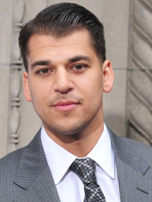 Rob Kardashian in a Suit