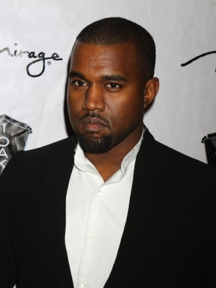 Kanye West Close Up