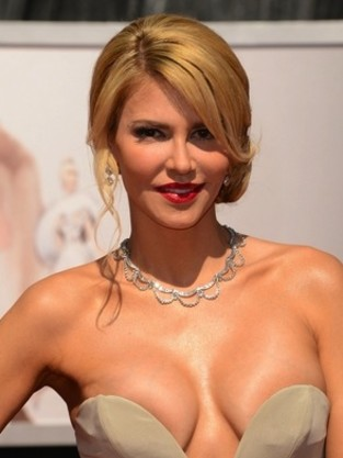 Brandi Glanville Oscars Dress