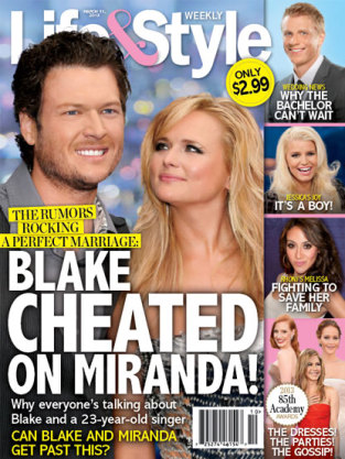 Blake Shelton Cheated?!?
