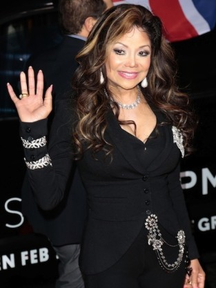 La Toya Jackson Waves