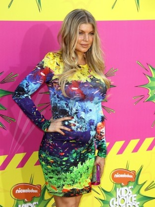 Fergie Kids Choice Awards Photo