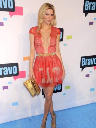Brandi Glanville Dress at Bravo Upfronts