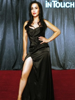 Octomom as Angelina Jolie