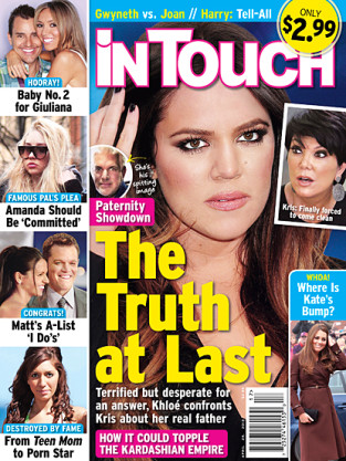 Khloe Kardashian Tabloid Kover