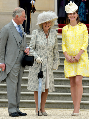 Kate Middleton, Baby Bump in Yellow