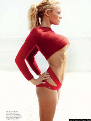 Pamela Anderson Vogue Pic