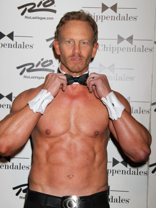 Ian Ziering Chippendales Pic