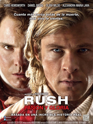Rush Movie International Poster