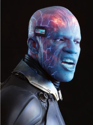 Jamie Foxx as Electro in Amazing Spider-Man 2 Photo