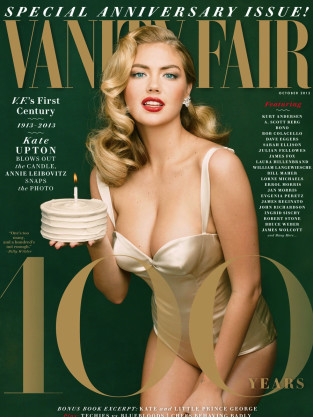 Kate Upton Vanity Fair Cover