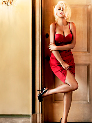 Christina Aguilera Maxim Pic