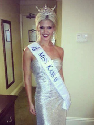 Theresa Vail, Miss Kansas