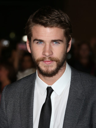 Liam Hemsworth with a Beard