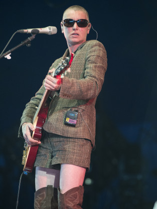 Sinead O'Connor in the UK