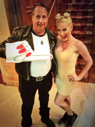 Jon Lovitz Crystal Harris Halloween