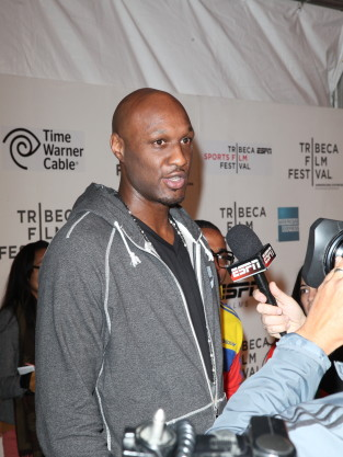 Lamar Odom Interview Pic