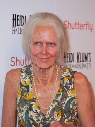 Heidi Klum as an Old Woman